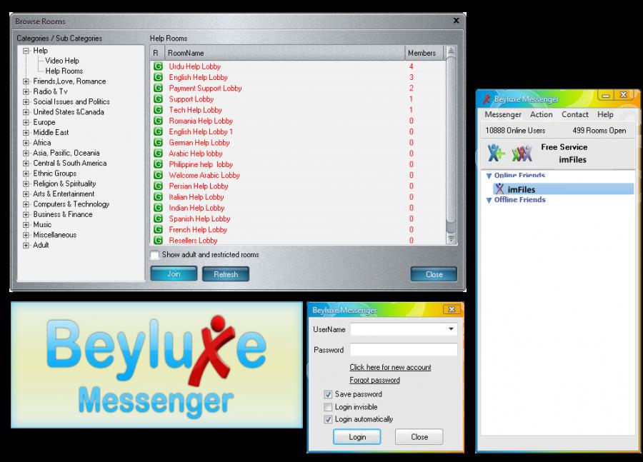 beyluxe messenger 2011